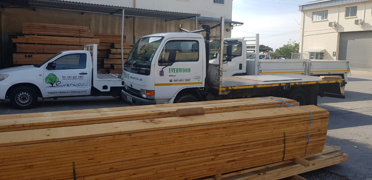 Everwood Timbers Delivery vehicles